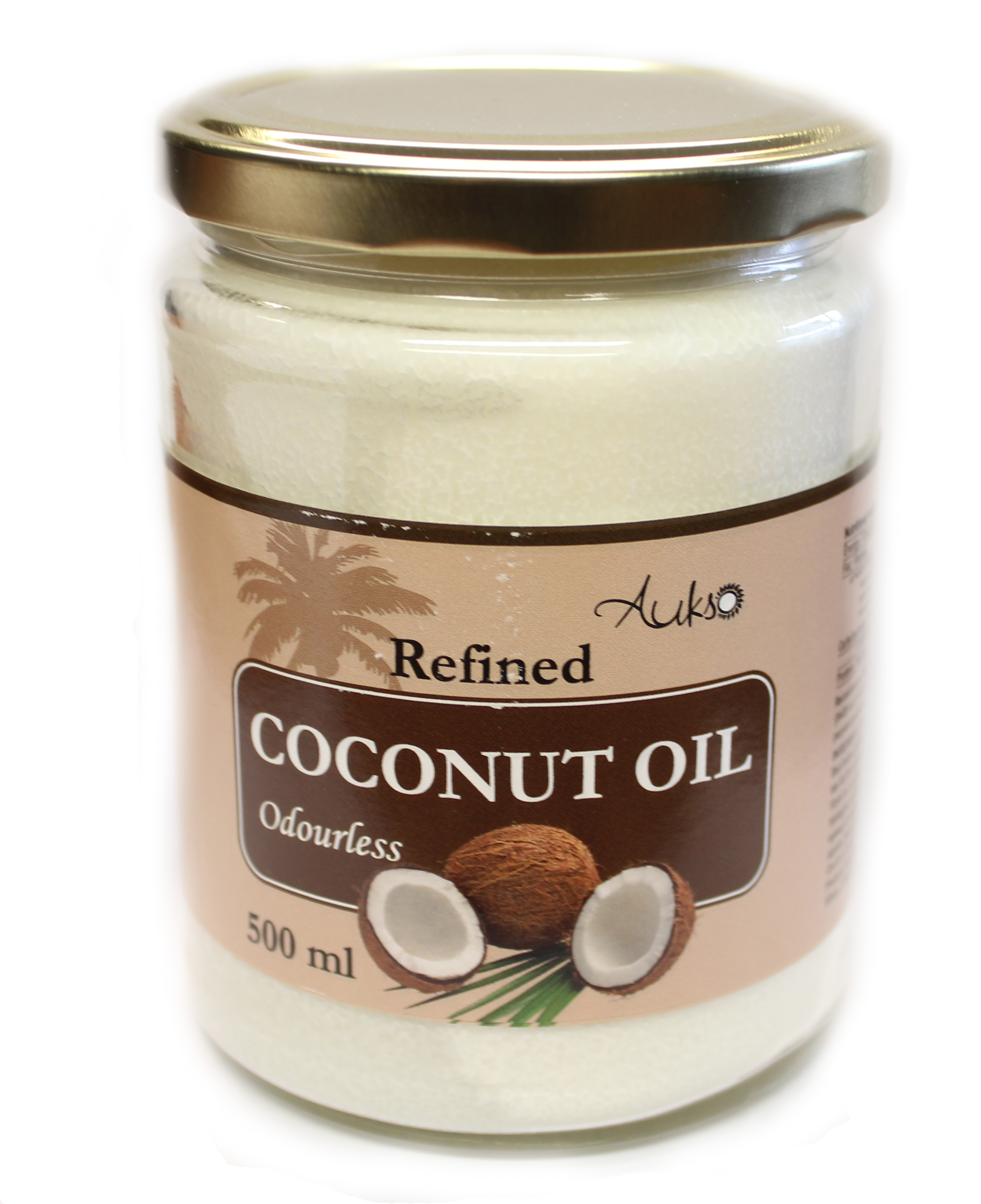 Odorless Coconut Oil (Refined, Gold)