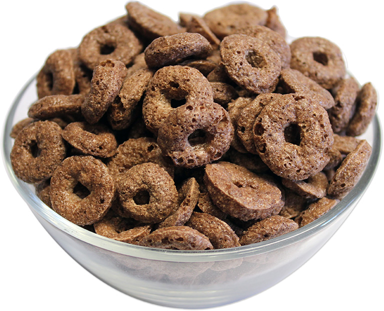 Chocolate Rings Cereals