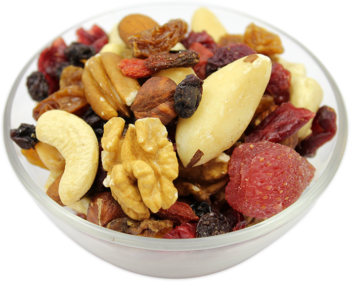 Dried Mixed Berries & Nuts (without Peanuts)